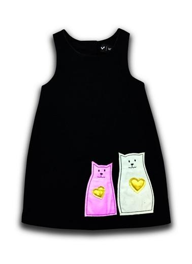 By Leyal For Kids Elbise Siyah